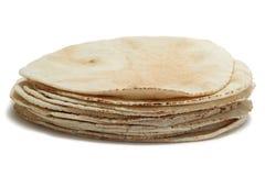 Pile de pain de pita Images libres de droits