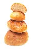 Pile de pain frais. image stock