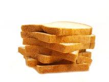 Pile de pain grillé Images libres de droits