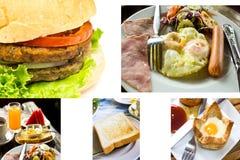 Pile de pain grillé pour le déjeuner Photographie stock