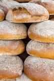 Pile de pains Image stock