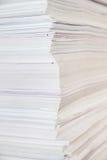 Pile de papier énorme photos stock