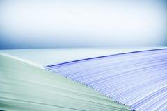 Pile de papier Photos libres de droits