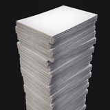 Pile de papier Photo libre de droits