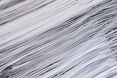 Pile de papier Photos stock