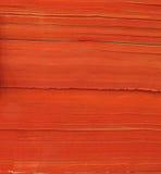 Pile de papier orange Photos libres de droits