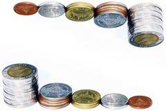 Pile de pièce de monnaie Images stock