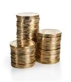 Pile de pièce de monnaie Images libres de droits