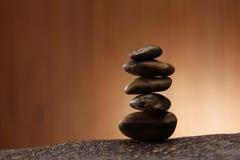 Pile de pierres Images libres de droits
