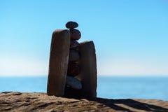 Pile de pierres Photographie stock libre de droits