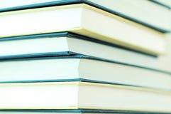 Pile de plan rapproché de livres Images libres de droits