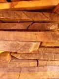 Pile de planches Images libres de droits