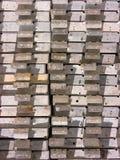 Pile de planches photos libres de droits