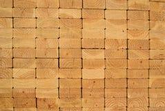 Pile de planches en bois Photographie stock libre de droits