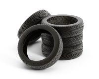 Pile de pneu Images libres de droits