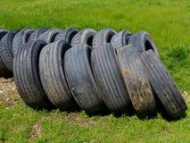 Pile de pneus de voiture Photographie stock