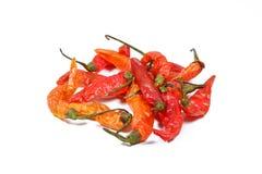 Pile de poivre de piments sec Photographie stock