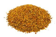 Pile de pollen d'abeille, ambroisie Image stock