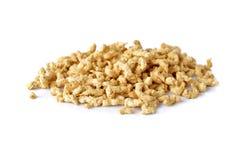Pile de protéine végétale fibreuse sur le blanc Photo libre de droits