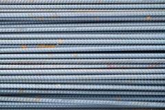 Pile de rebars Photographie stock libre de droits