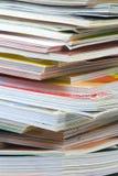 Pile de revue Photo stock