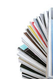 Pile de revues Photographie stock