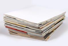 Pile de revues Images libres de droits
