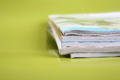 pile de revues Photographie stock libre de droits