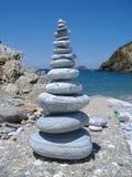 Pile de roche Image libre de droits