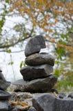 Pile de roche Image stock