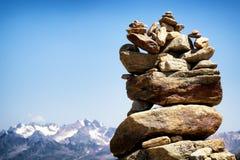 Pile de roche Photos libres de droits