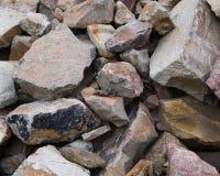Pile de roche Images libres de droits