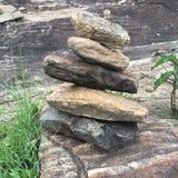Pile de roche au Brésil Images libres de droits