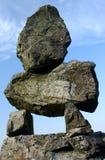 Pile de roche de zen Image libre de droits