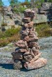 Pile de roches Photos libres de droits