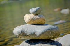 Pile de roches Images libres de droits