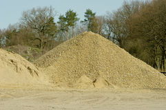 Pile de sable Photos libres de droits