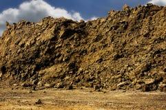 Pile de saleté Photo libre de droits