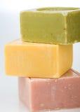 Pile de savons Photo libre de droits