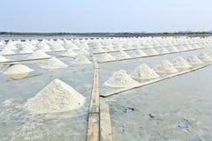 Pile de sel. photo stock