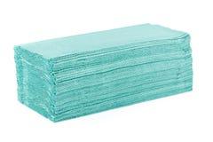 Pile de serviettes de papier Photographie stock libre de droits