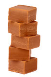 Pile de sucreries de caramel Images stock