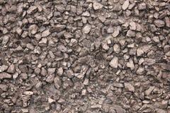 Pile de texture de charbon Images libres de droits