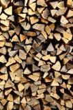 Pile de texture en bois Images stock