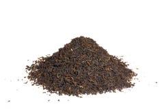 Pile de thé noir Image stock