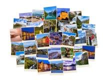 Pile de tirs de voyage de la Norvège Photo stock