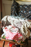 Pile de tissu Photo stock