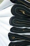 Pile de tissus Photo stock