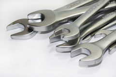 Pile de trousse d'outils d'outils de bricolage Images libres de droits