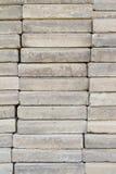 Pile de tuiles de pierres Photos stock